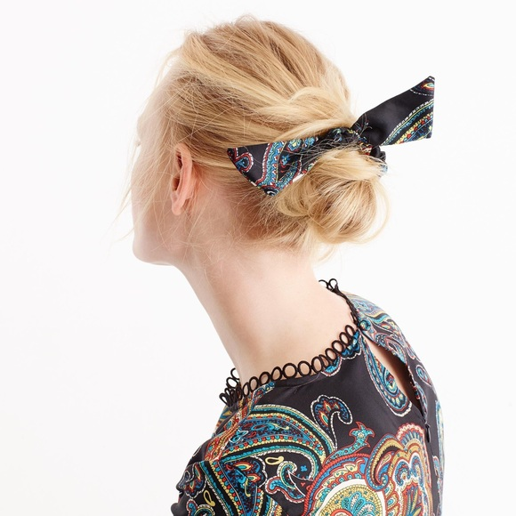 J. Crew Accessories - J. Crew Paisley Scrunchie